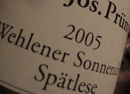 riesling sptlese mosel