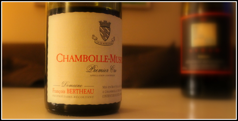 Chambolle Musigny Bertheau